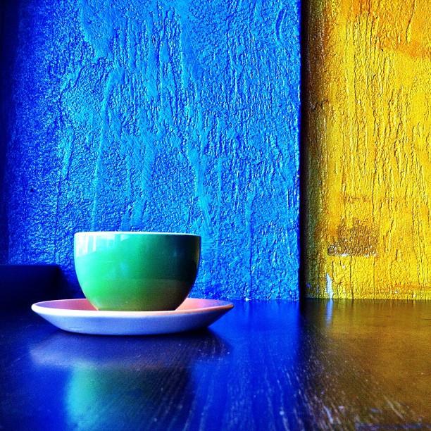 Coffee colors.