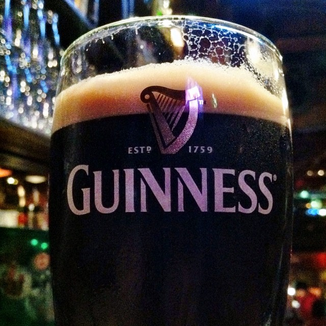 First proper Guinness in the Republic of Ireland.