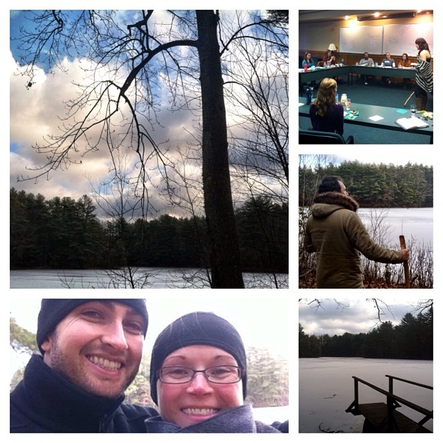 #WeekendInTheWoods Day 3: grand finale. Thanks to one and all for a wildly successful retreat. Here's to the next one :)