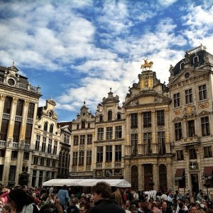 Grand Place, one of the most renowned squares in the world.