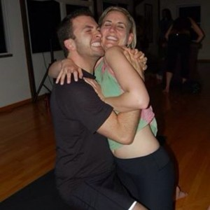 Cheesing with Megs pre Shiva Rea workshop a few weeks ago.